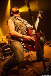 Joseph K., cantante y guitarrista de Romeo, Kafe Antzokia, Bilbao. 2012