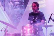 Edu Guzmán, baterista de Manett, Bizkaia Aretoa - UPV/EHU, Bilbao. 2012