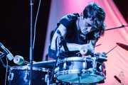 Miryam Petralanda, baterista, percusionista, multiinstrumentista de Gora Japón, Bizkaia Aretoa - UPV/EHU, Bilbao. 2012