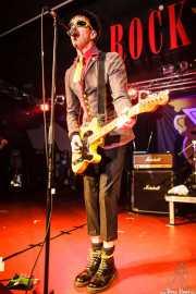 """Michael """"Olga"""" Algar, cantante y guitarrista de The Toy Dolls, Barakaldo. 2012"""