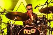 "Duncan ""The Amazing Mr. Duncan"" Redmonds, baterista de The Toy Dolls, Barakaldo. 2012"