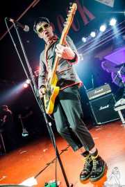 "Michael ""Olga"" Algar, cantante y guitarrista de The Toy Dolls, Barakaldo. 2012"