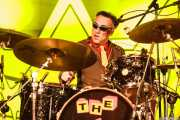 "Duncan ""The Amazing Mr. Duncan"" Redmonds, baterista de The Toy Dolls, Barakaldo. 2012"