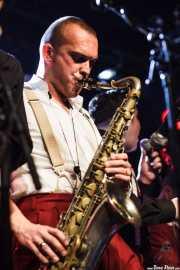 """""""Big"""" Dani Pérez, saxofonista de The Big Jamboree, Jimmy Jazz Gasteiz. 2012"""