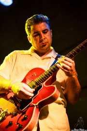 Manolo Casado, guitarrista de The Big Jamboree, Jimmy Jazz Gasteiz. 2012
