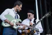 Si Cranstoun -cantante y guitarrista- y Jay Gipson, -guitarrista- (14/06/2012)
