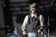 Patxi Lopez Monasterio, baterista de Dr. Maha's Miracle Tonic (14/06/2012)