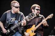 Eric Bloom -guitarrista y cantante- y Richie Castellano -guitarrista- de Blue Öyster Cult (14/06/2012)