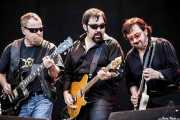 "Eric Bloom -guitarrista y cantante-, Richie Castellano -guitarrista- y Donald Brian ""Buck Dharma"" Roeser -guitarrista- de Blue Öyster Cult (14/06/2012)"