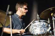 Josh Fleischmann, baterista de Israel Nash Gripka, Azkena Rock Festival, 2012