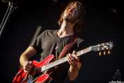 Joey McClellan, guitarrista de Israel Nash Gripka (Azkena Rock Festival, Vitoria-Gasteiz, 2012)