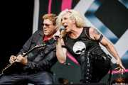 Jay Jay French -guitarrista- y Dee Snider -cantante- de Twisted Sister (14/06/2012)