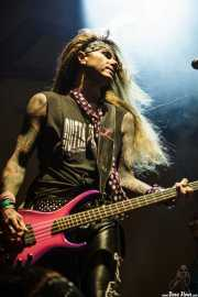 Lexxi Foxxx (Travis Haley), bajista de Steel Panther (14/06/2012)