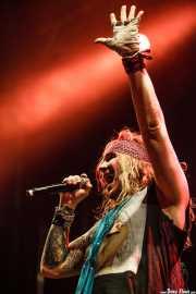 Michael Starr (Ralph Saenz), cantante de Steel Panther (14/06/2012)