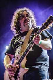 "Asier ""Pulpo"", guitarrista de Porco Bravo, Azkena Rock Festival, 2012"