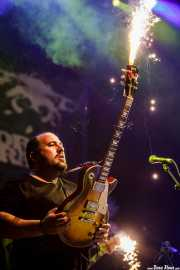 """Asier """"Indomable"""", guitarrista de Porco Bravo, Azkena Rock Festival, 2012"""