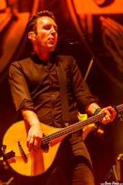 Jeff DaRosa, banjo y mandolina de Dropkick Murphys, Azkena Rock Festival, 2012