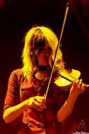 Violinista de Dropkick Murphys, Azkena Rock Festival, 2012