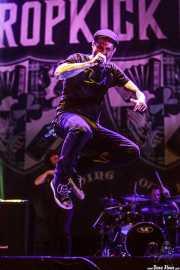 Al Barr, cantante de Dropkick Murphys, Azkena Rock Festival, 2012