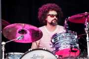 Joe Magistro, baterista de Rich Robinson Band, Azkena Rock Festival, 2012
