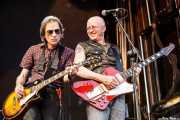 Mick Medew y Chris Masuak, de The Screaming Tribesmen, Azkena Rock Festival, 2012