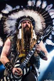 Zakk Wylde, guitarrista de Black Label Society, Azkena Rock Festival, 2012