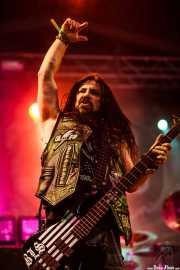 John DeServio, bajista de Black Label Society, Azkena Rock Festival, 2012