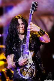 Gus G, guitarrista de Ozzy and Friends, Azkena Rock Festival, 2012