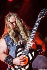 Zakk Wylde, guitarrista de Ozzy and Friends, Azkena Rock Festival, 2012