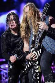 Ozzy Osbourne y Zakk Wylde, de Ozzy and Friends, Azkena Rock Festival, 2012