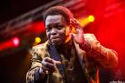 Lee Fields, cantante de Lee Fields & The Expressions (Azkena Rock Festival, Vitoria-Gasteiz, 2012)