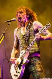 Justin Hawkins, cantante y guitarrista de The Darkness (Azkena Rock Festival, Vitoria-Gasteiz, 2012)
