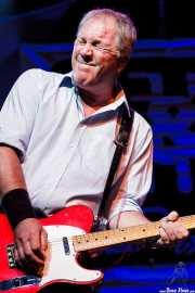 Steve Walwyn, guitarrista de Dr. Feelgood (Festival Internacional de Blues de Getxo 2012, Algorta, Getxo, 2012)