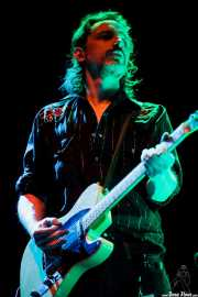 Judah Bauer, guitarrista de The Jon Spencer Blues Explosion, Bilbao BBK Live, Bilbao. 2012