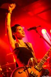 "Kenda ""Twisted"" Legaspi, cantante y guitarrista de The Creepshow (Magnet Club, Berlin, 2012)"