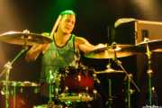 "Sandro ""Blood"" Sanchioni, baterista de The Creepshow (Magnet Club, Berlin, 2012)"