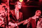 Guitarrista y Nicolás Rodriguez-Jauregui -saxofonista- de The Excitements, Funtastic Dracula Carnival, 2012