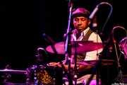 Earl Harvin, baterista de Tindersticks (Kafe Antzokia, Bilbao, 2012)
