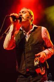 Stuart Staples, cantante y guitarrista de Tindersticks (Kafe Antzokia, Bilbao, 2012)