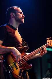 Lander Moya, bajista de Sonic Trash, Teatro Campos, Bilbao. 2012
