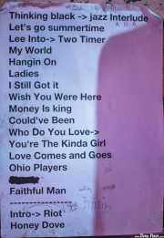 Setlist de Lee Fields & The Expressions (, , 2012)