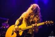 Iñigo L. Agudo, cantante y guitarrista de Quaoar, Bilbao. 2012