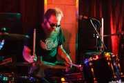 Rob Hulsman, baterista de Kentucky Bridgeburners (Sala Edaska, Barakaldo, 2012)