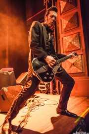 Rupert Orton, guitarrista de The Jim Jones Revue (Kafe Antzokia, Bilbao, 2012)
