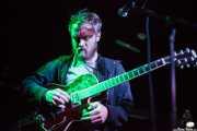Adam Stephens, cantante, guitarrista y armonicista de Two Gallants, Sala Azkena, Bilbao. 2012