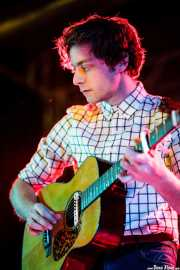 Keez Groenteman, guitarrista de Jacco Gardner (Purple Weekend Festival, León, 2012)