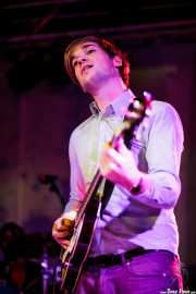 Jasper Verhulst, bajista de Jacco Gardner (Purple Weekend Festival, León, 2012)