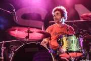 Fermín Roca, baterista de Bart Davenport & Biscuit (Purple Weekend Festival, León)