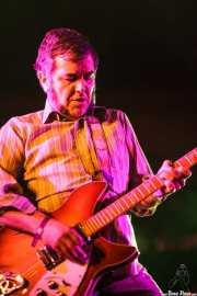Xavi Cardona, guitarrista de Bart Davenport & Biscuit (Purple Weekend Festival, León)