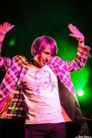 Bart Davenport, cantante de Bart Davenport & Biscuit (Purple Weekend Festival, León)